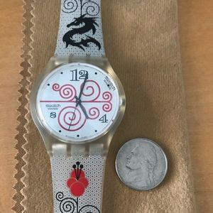 Swatch jelly in jelly watch